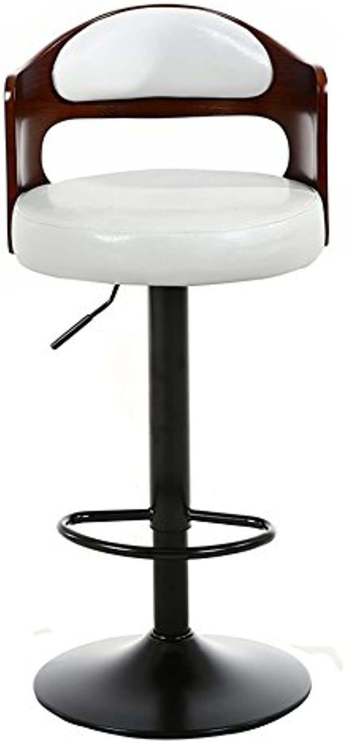 LXY& Bar Chairs, Modern Style Round stool High stool Dining Chair Iron Chair Can redate Chair Height Adjustable 60 to 80 cm ( color    11 )