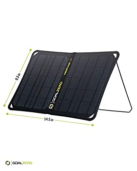 Goalzero Nomad 10 Panneaux solaires Power Bank-Lifestyle Unisexe Adulte