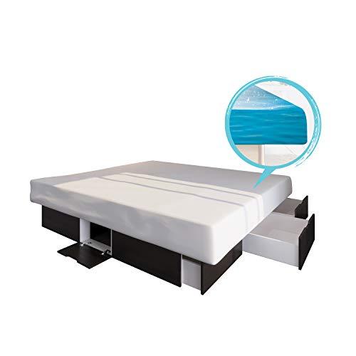 ORIGINAL bellvita Wasserbett mit Schubladen