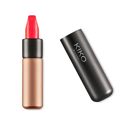 KIKO Milano Velvet Passion Matte Lipstick, 330 Coral, 3.5g