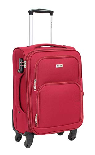 Valise Taille Cabine 55cm - ALISTAIR Plume - Toile...