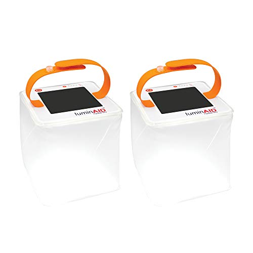 LuminAID PackLite Terra Solar Inflatable Emergency Lantern