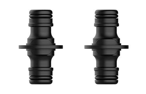 """Norjews Kupplung, Verbindungsteil zur sicheren Verbindung zweier Schläuche, zum Übergang von 13 mm (1/2\"""") auf 13 mm (1/2\"""")-Schläuche, Einfache Montage - 2 Stück"""