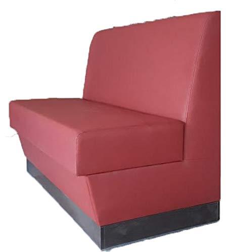 Gastro Sitzbank Bordo, Bistro Bänke Brdo 120cm breit Gesamthöhe:95cm Gesamttiefe:68cm
