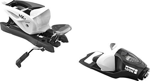 LOOK - Fixations De Ski Nx Jr 7 B83 Black/White - Homme - Taille Unique - Noir