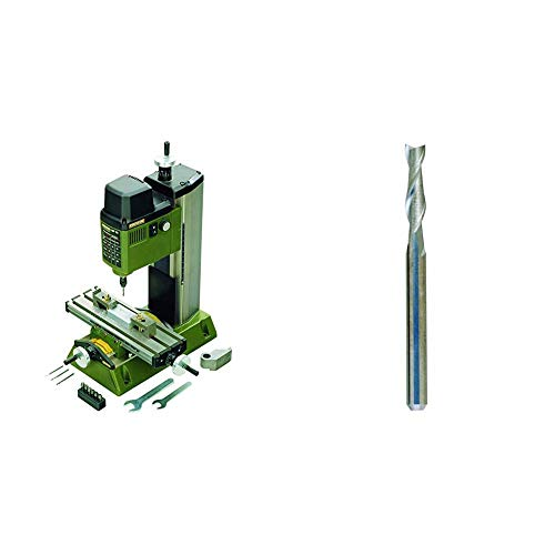 Proxxon 2227110 - Microfresadora Mf-70 + Proxxon 2228761 - Fresa Metal Duro D 3Mm