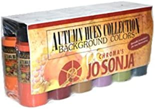 Jo Sonja's Autumn Hues Colour Collection Set Of 12 - 2oz Bottles