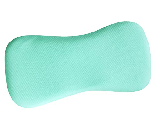 Oreiller bébé LLQ, nourrisson doux plus long, oreiller pour enfant avec coussin de couchage en mousse à mémoire de forme (0-6 ans), vert