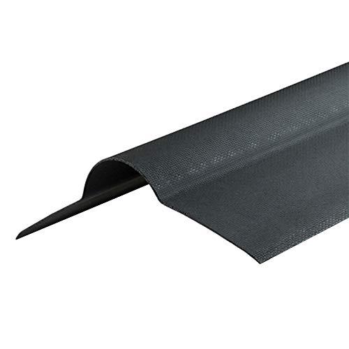 Black Bitumen Ridge Corrugated Apex Roof Shed Garage Barn Corrapol-BT Roofing