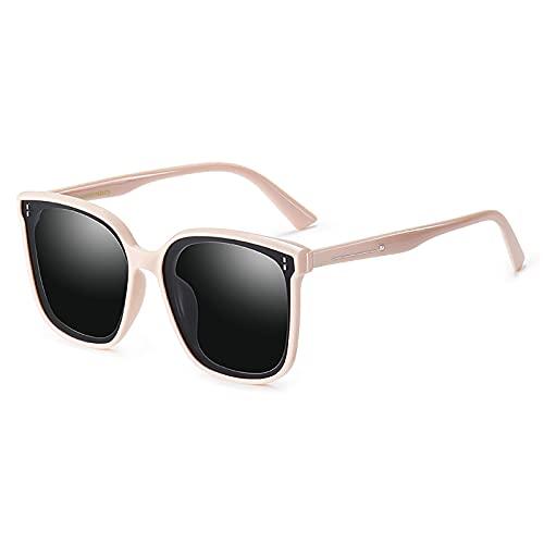 Joomouney Gafas de sol para hombre y mujer, UV400, gafas de sol polarizadas, estilo vintage, caja de regalo