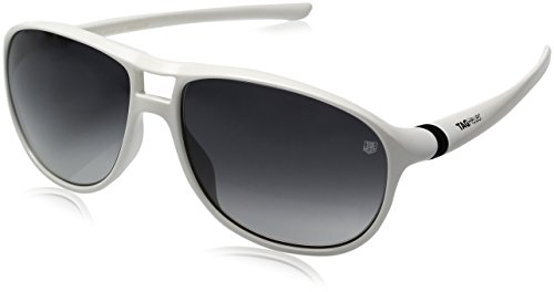 TAG HEUER 27 Degree URBAN TH6043 107 - Gafas de sol para hombre, color blanco, negro, gris