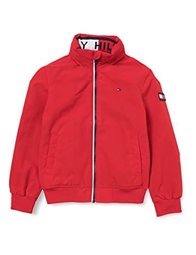 Tommy Hilfiger Essential Jacket Giacca, Deep Crimson, 3 Bambino