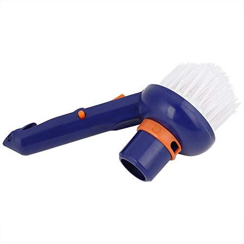Fdit1 Spazzole per la Pulizia con l'aspirapolvere Setole in Nylon per vasche idromassaggio con Angolo per Piscina