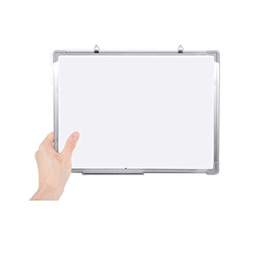 QinWenYan Pizarras Blancas Inicio Mensaje de Escritorio de Oficina de móvil portátil pequeño Colgante Pequeño Pizarra Niños para Casa (Color : White, Size : 30x45cm)