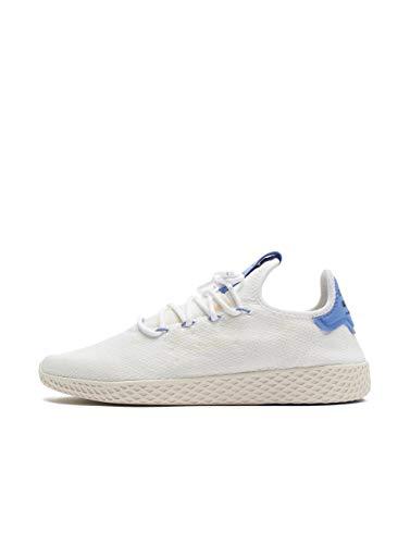 adidas Herren Pw Tennis Hu Sneaker, Mehrfarbig (Ftwbla/Lilrea/Blatiz 000), 44 EU