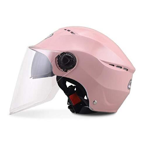 YFOZCOM Casco De Bicicleta, Cycle Helmet, con Visera, Protección De Seguridad Ajustable Deporte Ligera para Casco Bicicleta De Equitación Deportiva Al Aire Libre