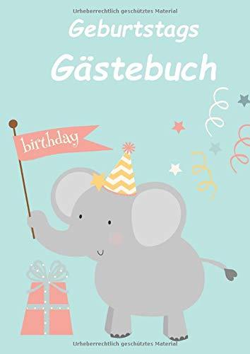 Geburtstags Gästebuch: Gästebuch für den Kindergeburtstag I Erinnerung I Geschenkidee I...