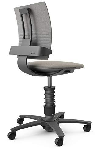 aeris 3Dee Standard – Ergonomischer Bürostuhl mit patentierter Lehnentechnologie – Schreibtischstuhl ohne Armlehnen mit 3D Bewegungstechnologie – 42-56 cm einstellbare Sitzhöhe