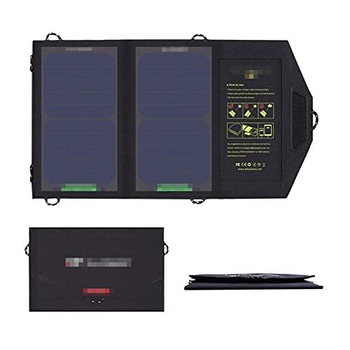 Panel Solar Portátil De 10W Y 5V, Cargador Solar De Carga para Teléfono, para Senderismo, Camping Y Aire Libre