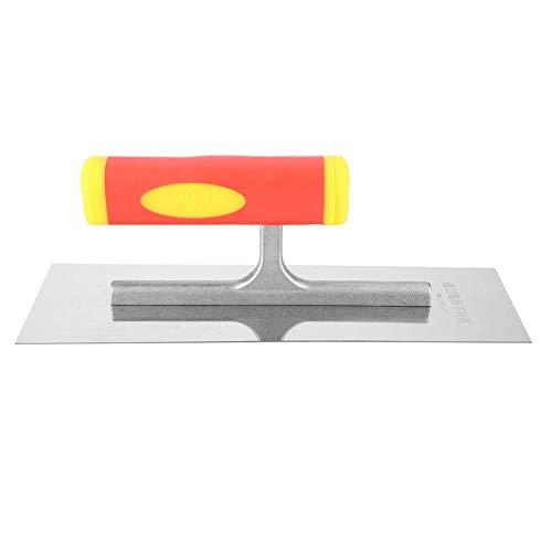 Paleta de Yeseros, Paleta Profesional para Enlucido de Yeso Herramienta Manual de Acabado de Concreto para Enlucido, Raspado, Albañil, Pintor 240 mm 300 mm(240mm)