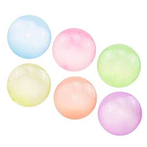 harayaa 6X Bubble Ball Globo Interior Playa Cumpleaños Decoración Niños Juego Juguete 70cm