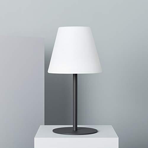 LEDKIA LIGHTING Lámpara de Mesa LED Larso Solar Blanco Frío 5700K - 6200K