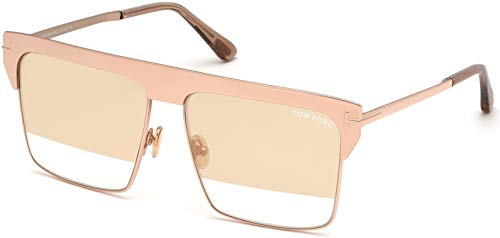 Tom Ford FT 0706 West 33Z - Gafas de sol (bañadas en oro rosa)