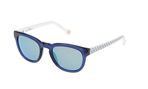 Carolina Herrera SHE60550T31V Gafas de sol, Azul, 50 para Mujer
