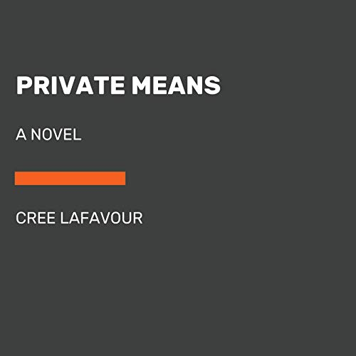 Private Means audiobook cover art