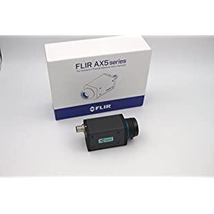 FLIR 73513-0102 A65sc Benchtop Test Kit including (640 x 512) 9 Hz, Focus 13 mm (45 Degree × 37 Degree) Lens, Temperature -40 Degree C to 550 Degree C