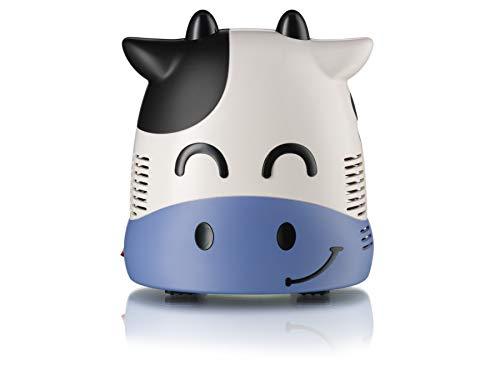 Only for Baby Smiley Cow - Inhalador para niños la Vaquita Sonriente Aparato para medicamentos líquidos con compresor Nebulizador