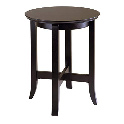 Winsome Wood Toby Occasional Table, Espresso Dark Espresso, 18 inches