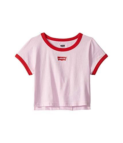 Pink Kids Ringer T-Shirt - 5