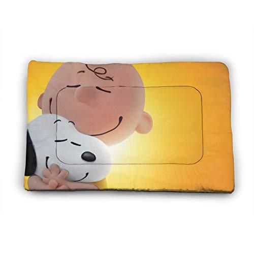 KANKANHAHA Snoopy Hundebett-Matratze, weich, waschbar, rutschfest, für Hunde und Katzen, 101,6 x 68,6 cm