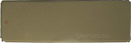 Robens Unisex– Erwachsene Campground Selbstaufblasende Matte, Green, 5 cm