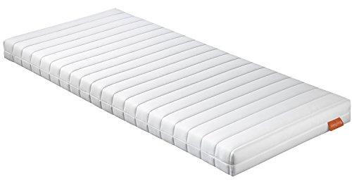 sleepling 196757 Rollmatratze Gästematratze Basic 30 - Härtegrad 2 80 x 200 x 13 cm, weiß