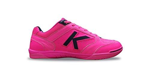 Kelme Precision Elite 2.0, Zapatillas de fútbol Sala Unisex Adulto, Rosa (Rosa Neon 9929), 44 EU