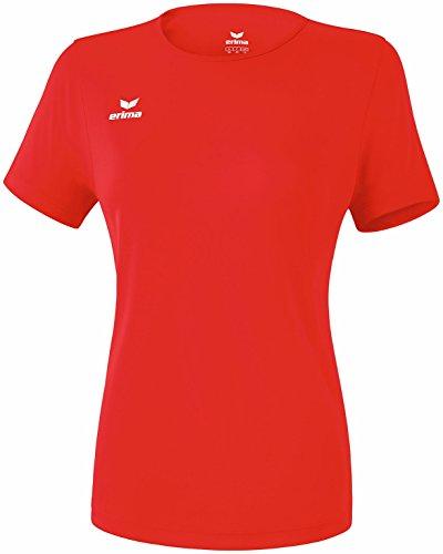 Erima Damen Funktions Teamsport T-Shirt, rot, 40