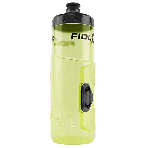 Fidlock Ersatz-Trinkflasche gelb durchsichtig, Achtung: Ohne die Bottle Twist Magnet-Halterung, nur als zusätzliche Ersatzflasche geeignet