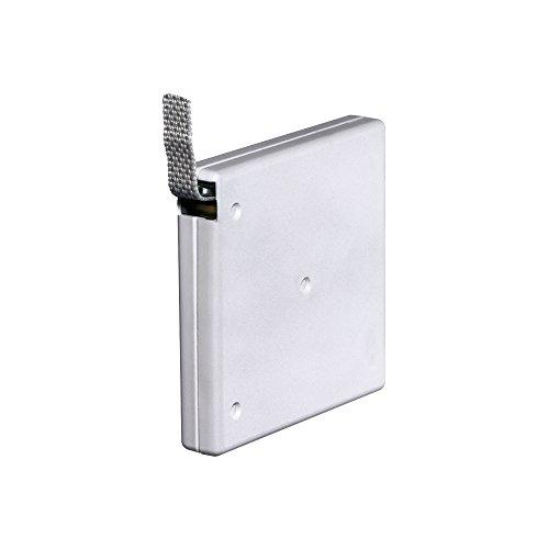 JAROLIFT Gurtwickler Aufputz, aufschraubbar 21mm breit, weiss/inkl. 5m Gurt (081003)