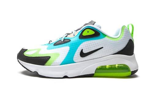 Nike Air Max 200 SE Herren Running Trainers CJ0575 Sneaker Schuhe (UK 9 US 10 EU 44, White Black Electric Green 101)