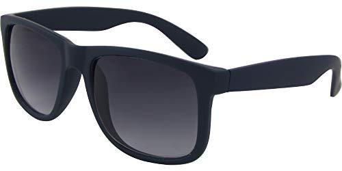 AZ-Eyewear Wayfarer 8240-B - Gafas de sol (cat. 3), color azul y gris mate