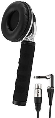 IMG Stage Line 22.1090 DJ Mono Hand-Held Headphone, Black from Monacor
