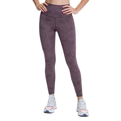 QTJY Pantalones de Yoga de Camuflaje de Cintura Alta para Mujer, Pantalones de Yoga elásticos, Pantalones de Fitness de Secado rápido, Pantalones Deportivos para Correr al Aire Libre CM