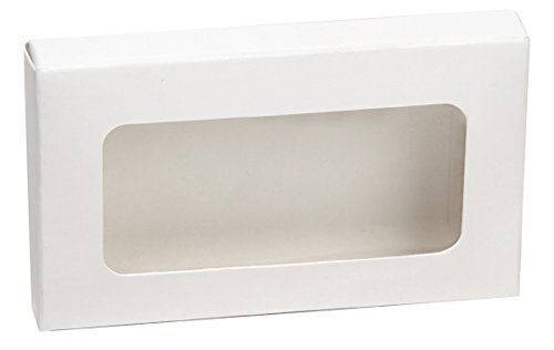 Buy Discount Business Card Chocolate Box, White - Case of 150