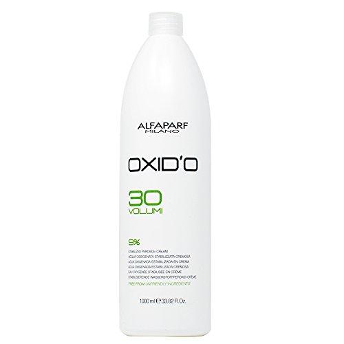 Alfaparf Milano Oxid'o 30 Volume 9% Peroxide Cream Developer - 33.82 oz by Alfaparf Milano
