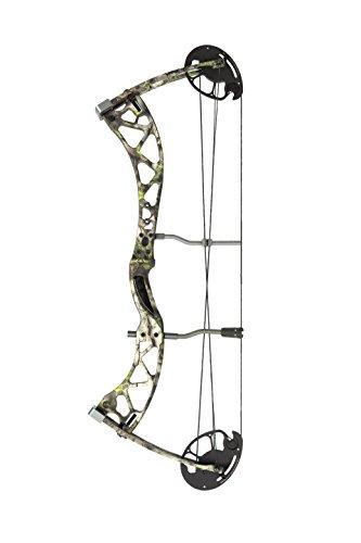 Champion Archery EL-1718BLK70R Carbon Eliminator Blackout Archery Bow, Blackout