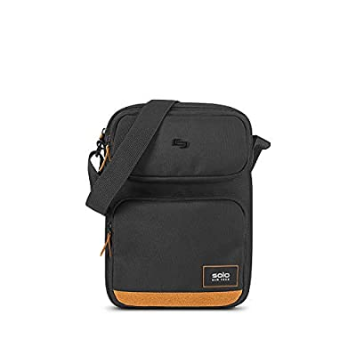 Solo New York Ludlow Universal Tablet Sling Bag, Black/Tan by SOLO New York