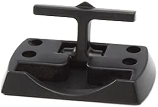 PROGRIP 832220 Trailer Transport and Truck Tie Down Accessories: Black Powder Coated Fold Down Rope Hook (Pack of 2)