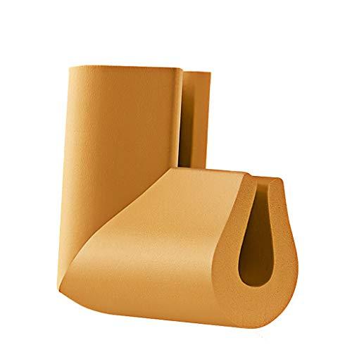 WYQ Protections d'angle, protecteurs d'angle de Table pour la sécurité des bébés First NBR Pack-10 Couleur NBR Souple et résistant, en Option Protection Coin (Couleur : Brown, Taille : 6×6x0.8cm)